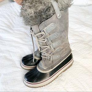 Sorel Joan of Arc Waterproof Boots with Fur